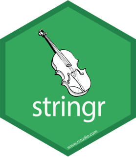 Logo for stringr