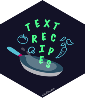 Logo for textrecipes