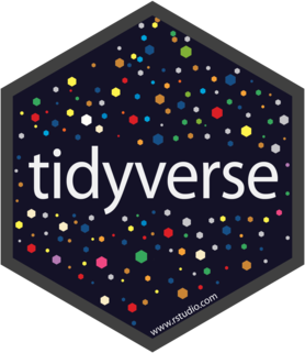 Logo for tidyverse