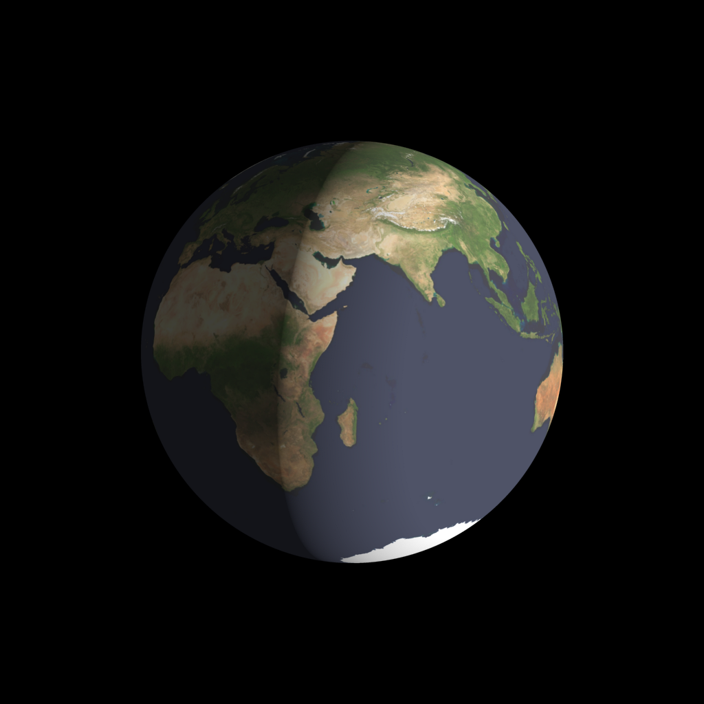 Earth at sunrise