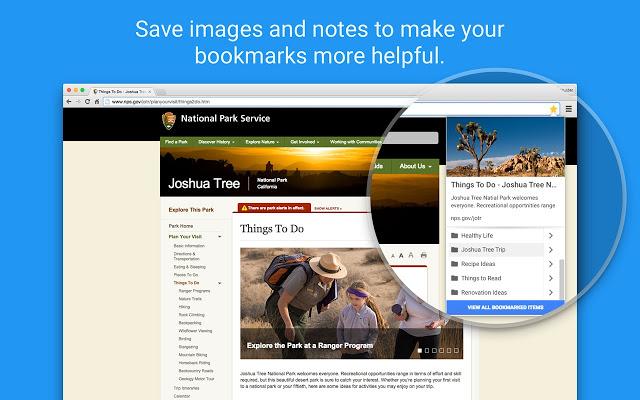 Bookmark creation