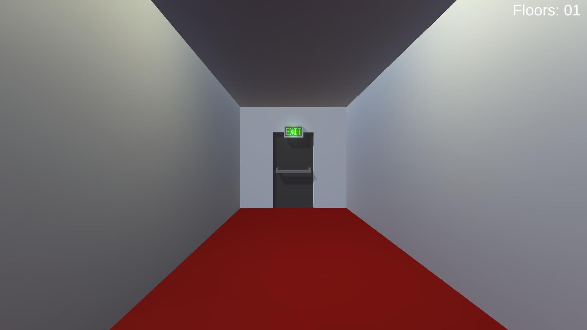 Exit Door Closed