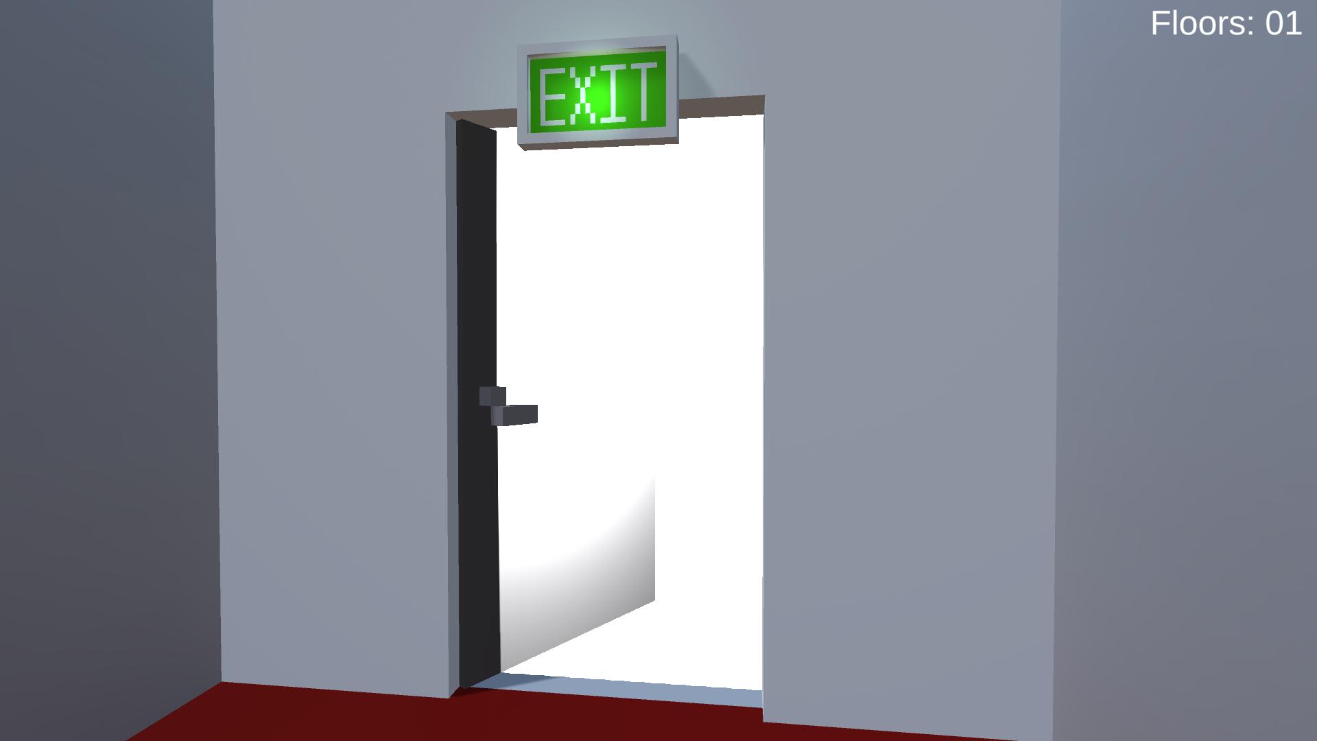 Exit Door Open