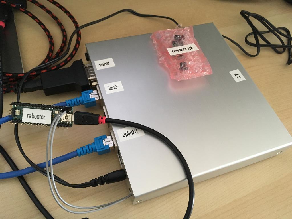 router7 development setup