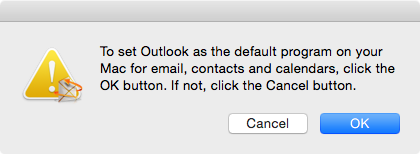 how to set microsoft as default on mac