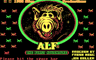 Alf - The First Adventure