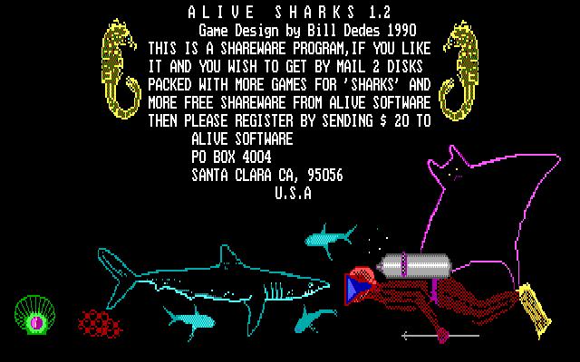 Alive Sharks