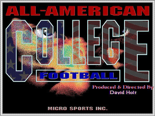 All-American College Football