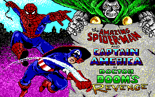 Amazing Spiderman and Captain America Doctors Dooms Revenge