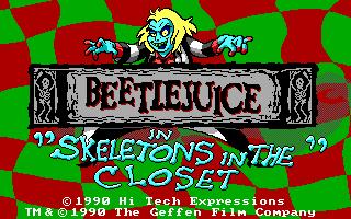 Beetlejuice in Skeletons in the Closet