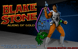 Blake Stone - Aliens Of Gold