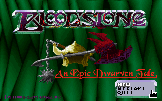 Bloodstone - An Epic Dwarven Tale