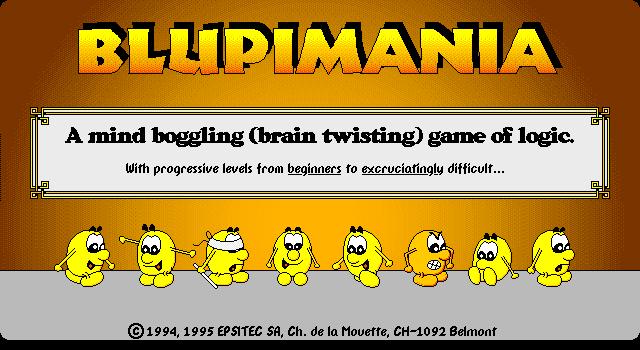 Blupimania