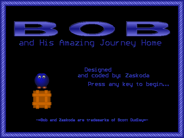 Bob and His Amazing Journey Home
