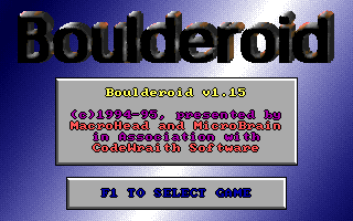 Boulderoid