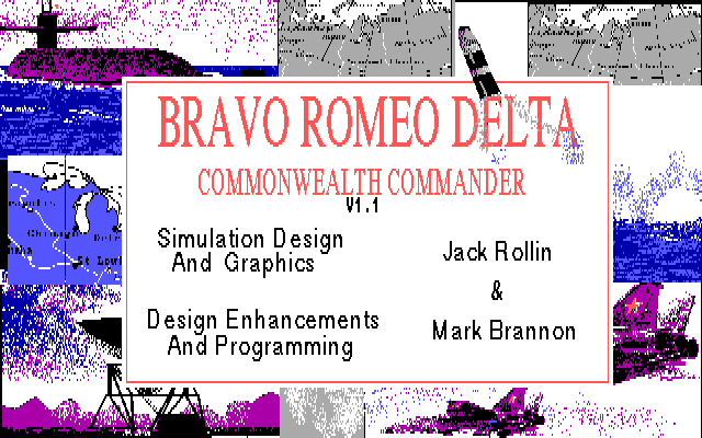 Bravo Romeo Delta - Commonwealth Commander