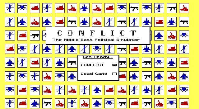 Conflict - The Middle East Political Simulator