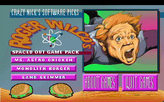 Crazy Nick's Spaced Out Game Pack