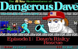 Dangerous Dave - Episode 1 - Dave's Risky Rescue