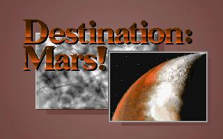 Destination - Mars!