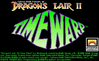 Dragon's Lair 2 - Time Warp