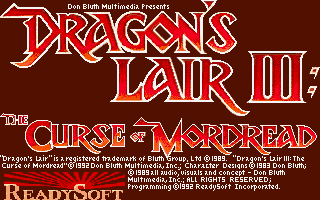 Dragon's Lair 3 - The Curse of Mordread