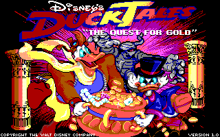 Duck Tales - The Quest for Gold