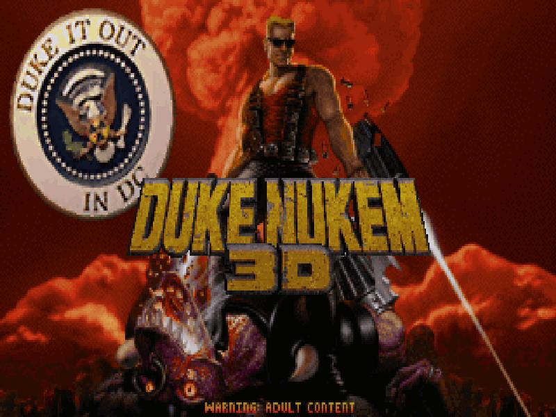 Duke Nukem 3D - Duke it out in D.C.