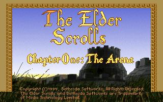 Elder Scrolls - The Arena