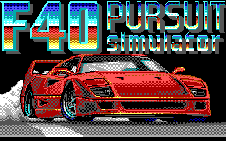 F40 Pursuit Simulator