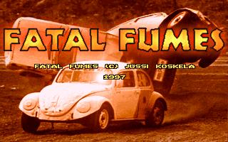 Fatal Fumes