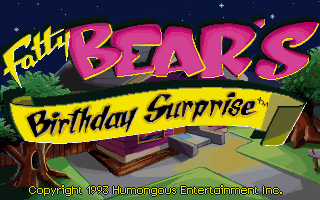 Fatty Bear's Birthday Surprise