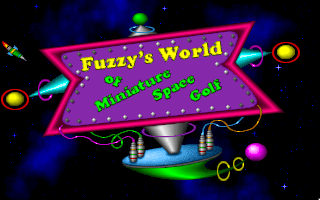 Fuzzy's World of Miniature Space Golf