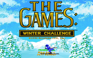 Games - Winter Challenge