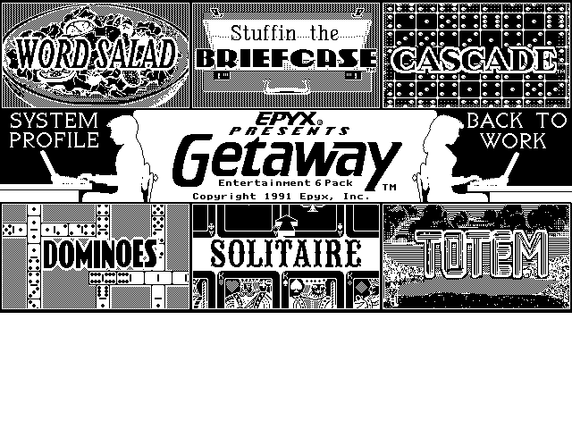 Getaway - Entertainment 6 Pack