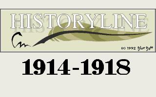 Historyline - 1914-1918