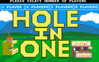 Hole in One - Miniature Golf