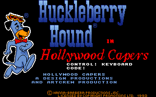 Huckleberry Hound in Hollywood Capers