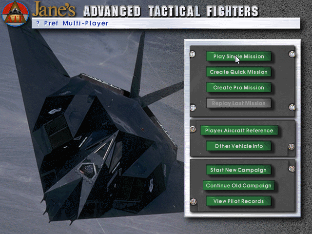 Jane's Advanced Tactical Fighters