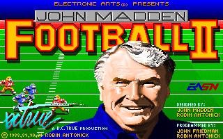John Madden Football 2