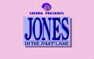 Jones in the Fast Lane