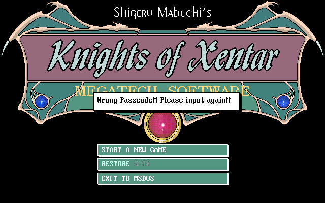 Knights of Xentar