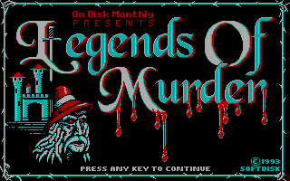 Legends of Murder