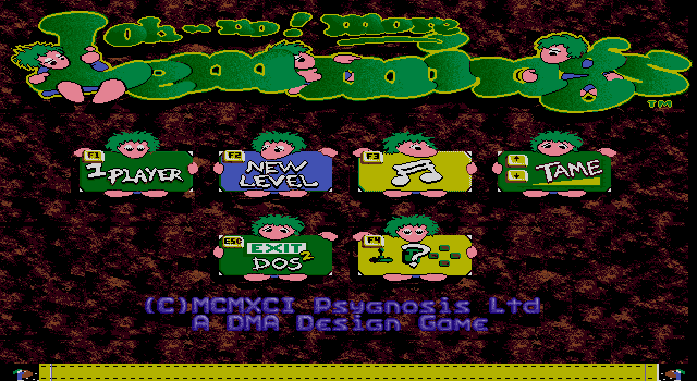 Lemmings 1 - Oh No! More Lemming
