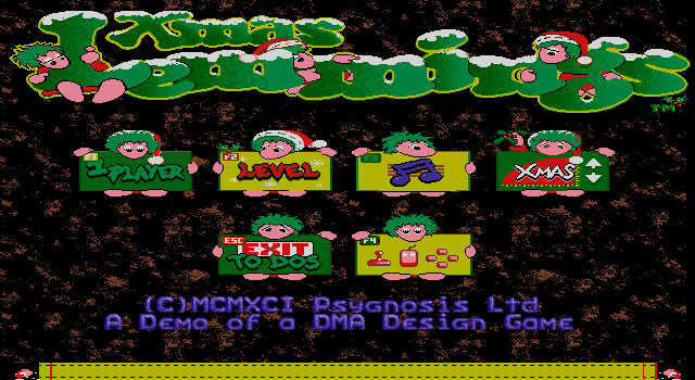 Lemmings 1 - XMas Lemmings