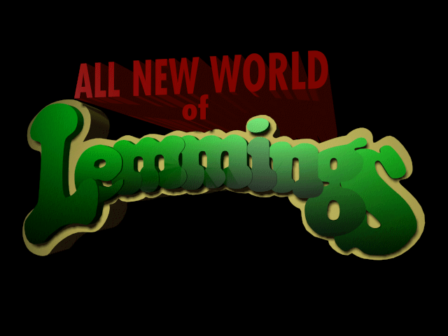 Lemmings 3 - All New World of Lemmings