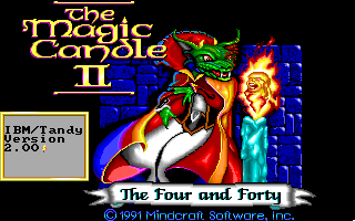 Magic Candle 2 - The Four and Forty