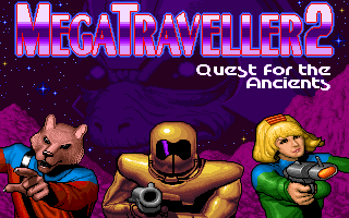 MegaTraveller 2 - Quest for the Ancients