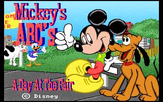 Mickey's ABC's