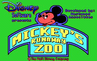 Mickey's Runaway Zoo